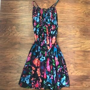 Thankoon for Target Floral Swing Dress Size Small